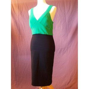JS Collections Sleeveless Stretch Knit Dress 6 NEW